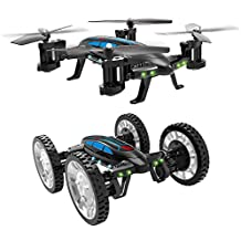 Taotuo 2 in 1 Air-Road RC Car Flying Quadcopter Toy with 4 Channel 2.4G 6-Axis Gyro Headless Mode