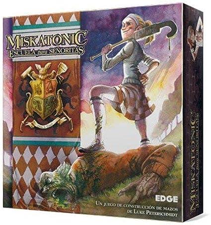 Edge Entertainment - Miskatonic Escuela para Señoritas (EDGFE01): Amazon.es: Juguetes y juegos