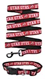 Utah Utes Nylon Collar and Matching Nylon Leash for Pets (NCAA Official by Pets First) Size Medium