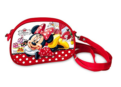 Disney 38802 Star Licensing Borsa Messenger, 18 cm, Multicolore