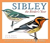 Sibley: The Birder's Year 2014 Boxed/Daily (calendar)