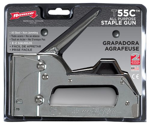 Arrow All Chrome Tacker Gun T55C