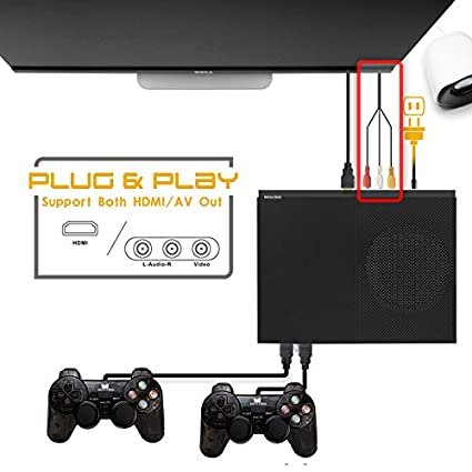 ANBERNIC Console di Gioco Retro X-Pro Console di Giochi Portatile Built-in 800 Classic Giochi 4K HDMI TV Video Game Console