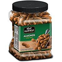 Nut Harvest Lightly Roasted Almonds, 36 Ounce Jar