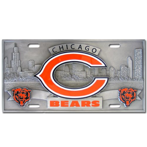 Chicago Bears NFL Collector's Plate by Siskiyou