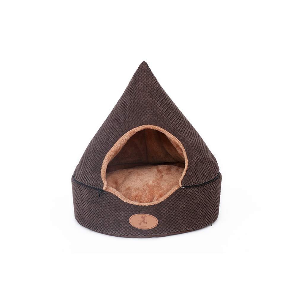 LXRZLS Cat Cave. Cat Nest, Semi-enclosed Cattery .Dog Bed Pets & Cats