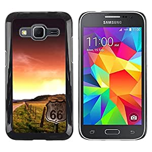 """For Samsung Galaxy Core Prime / SM-G360 , S-type Sunset Beautiful Nature 102"""" - Arte & diseño plástico duro Fundas Cover Cubre Hard Case Cover"""