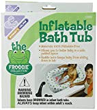 Bath Seats for Babies Mommy's Helper Inflatable Bath Tub Froggie Collection, White/Green, 6-18 Months