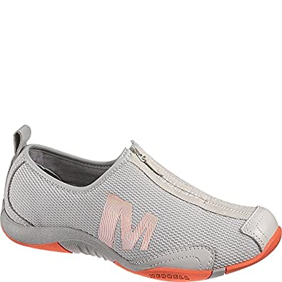 Amazon.com | Merrell Women's Tamba Breeze Mesh Walking Shoe, Ash/Coral