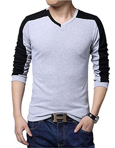 Musamk Dashing T Shirt Homme 2016Mixed Colors Compression Shirt Mens Tshirt Brand T-Shirt Homme Shirts Men Slim T-Shirt 5XL gray t shirtAsia XL 55 to 60 kg High - Halifax Singapore