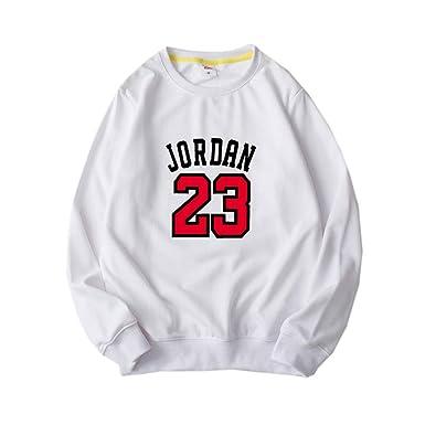 HEJX Bulls 23 Jordan Baloncesto suéter Hombres y Mujeres ...