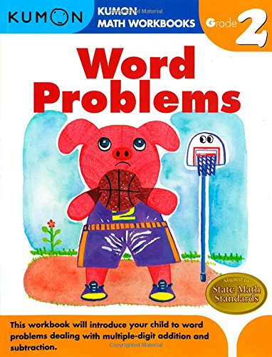 Word Problems Grade 2 (Kumon Math Workbooks) [Kumon Pub. North America Ltd] (Tapa Blanda)