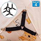 Adjustable Bed Sheet Holder Straps, Triangle