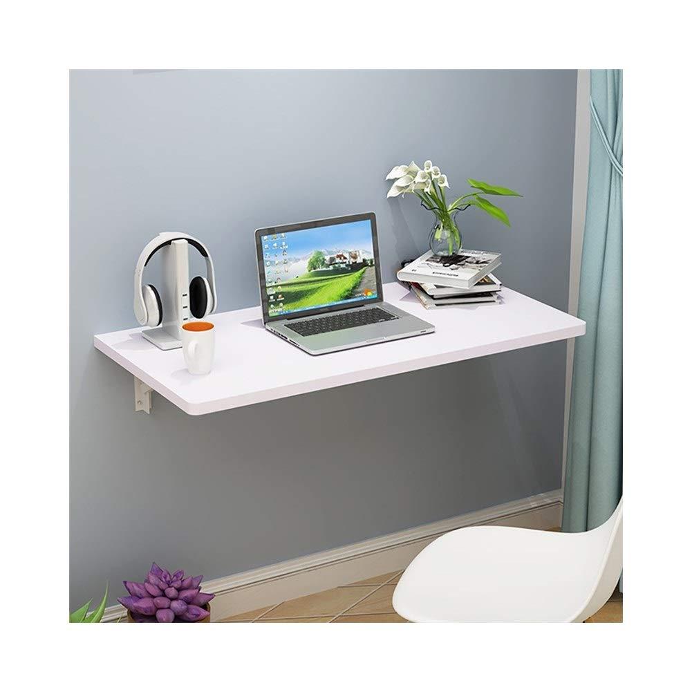 Weiß LQQGXLPortabler Klapptisch Wand-Computertisch, Klapptisch, Multifunktionstisch, (Farbe   Weiß)