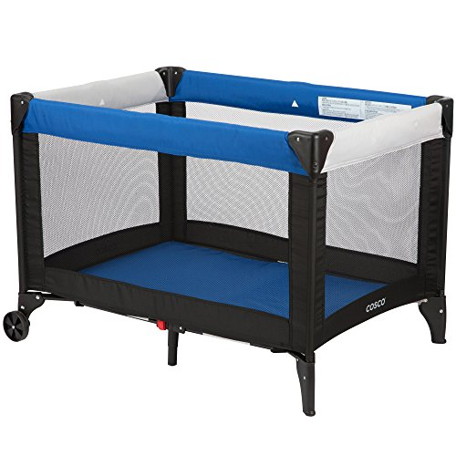 Cosco Funsport Play Yard, Colorblock Surf The Web (Fold Up Play Yard)