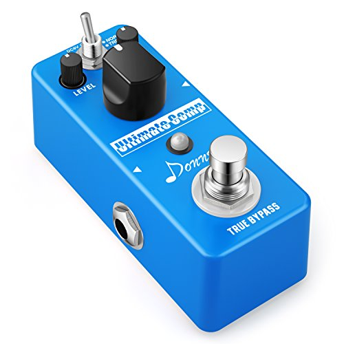 Donner Compressor Pedal Ultimate Comp Guitar Effect - Pedal Compression