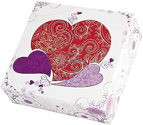 Thiolat Caja para Tarta Decorada Valentina 50 ud.: Amazon.es: Hogar