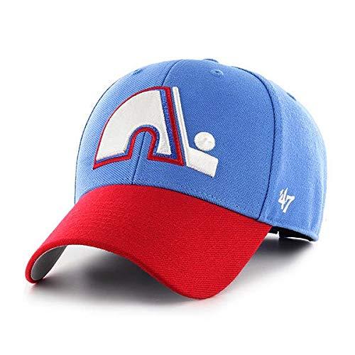 '47 Quebec Nordiques NHL MVP Vintage Throwback Two Tone Hat Cap Adult Men's - Quebec Nhl Nordiques