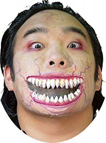Woochie by Cinema Secrets Crazy Grin Latex Appliance, Multi, One Size