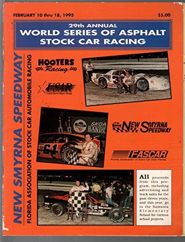 New Smyrna Spdwy World Series Of Asphalt Stock Car Racing Program 2/1995-VG/FN (World Series Of Asphalt Stock Car Racing)