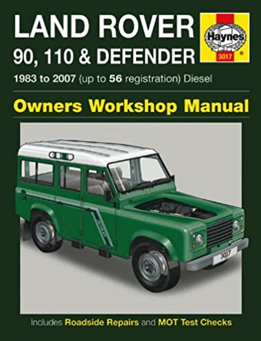 land rover 90 110 and defender diesel owners workshop manual manual rh amazon co uk land rover defender owners manual land rover defender 90 owners manual pdf