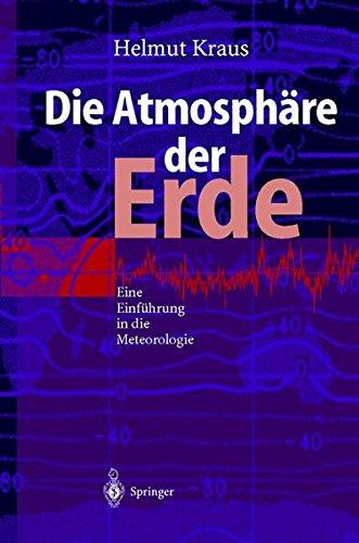 Die Atmosphäre Der Erde  Eine Einführung In Die Meteorologie