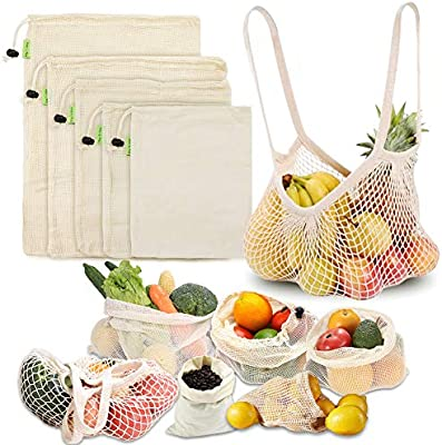 LIVEHITOP Reusable Bags for Fruit and Vegetables </div>