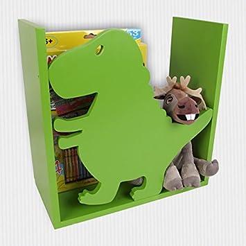 Kinderregal Dino Spielzeugregal Wandregal Regal Kinderzimmer ...
