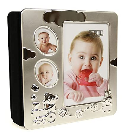 Amazoncom Babyalbum Silver Plated Baby Photo Album Gift Baby