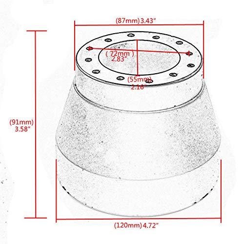 FidgetGear Adaptador de buje de Rueda de direcci/ón para BMW E30 Nardi Personal Sparco