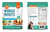 Wundernuggets - Vegan Minty Lentil with Lentils, Veggies and Chia Seeds - Pack of 6 Bags (14-16 wundernuggets in each bag) - Free of All Top 8 Allergens