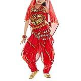 BellyLady Kid Belly Dance Costume - Harem Pants & Halter Top For Halloween