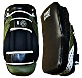 Ultima MiM Foam Leather Curved Thai Pad, for MMA, Muay Thai, Kickboxing