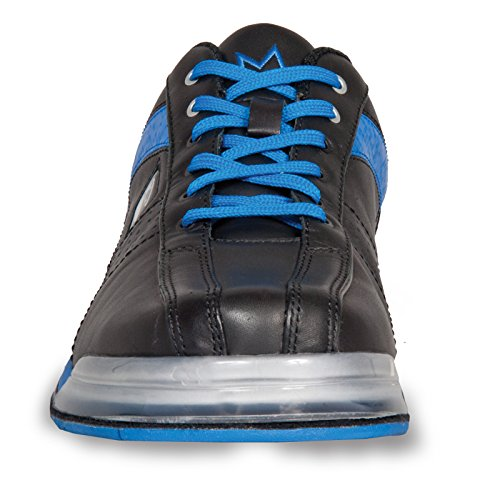 Brunswick Mens Performance TPU X Bolos shoes- mano derecha Negro/Azul