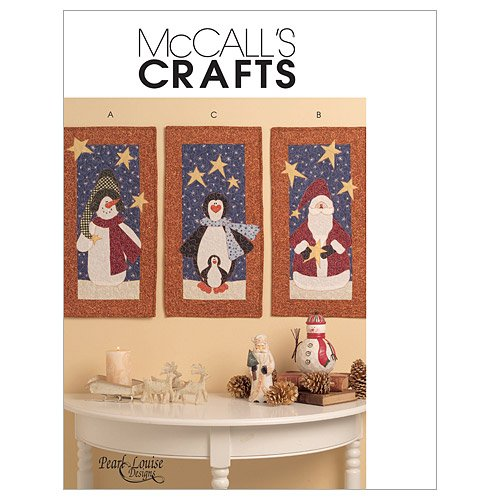 McCall's Patterns M5781 Mini Quilts, One Size Only (Snowman Quilt Pattern)