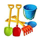 5 Sets of Children Beach Toys Set Sand Toys Shovel Tools Sandbox Accessories