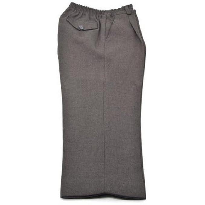 defb0abf473d0 ... MI COLE Pantalón Uniforme Escolar Gris Largo - 45% Lana 55% Poliéster ( Cintura Completamente Elástica) Fabricado en España  Amazon.es  Ropa y  accesorios