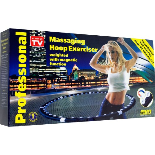 Pro Massaging Hoop Exerciser with Magnet
