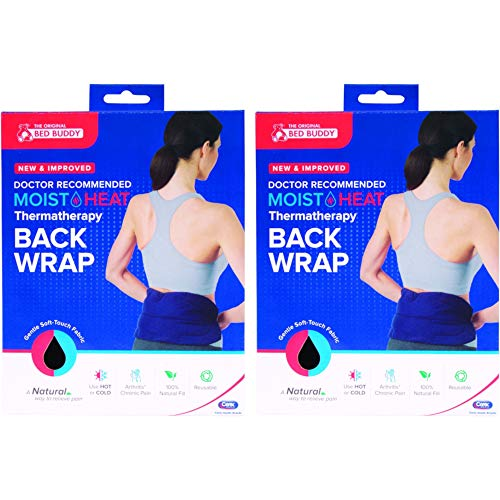 Bed Buddy - Moist Heat Thermatherapy Back Wrap (Value Pack of 2)