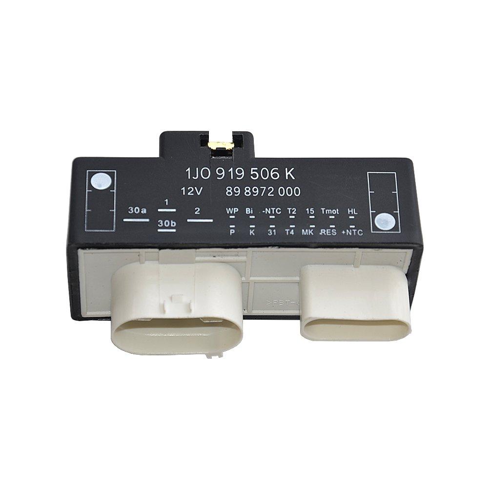 Electric Fan Control Module 1J0919506K 1J0 919 506 K GELUOXI
