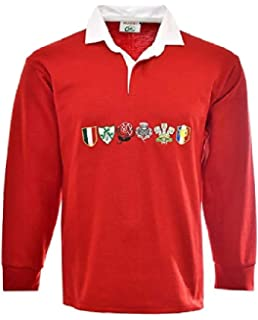 003612d5bc7 England Rugby Shirt Long Sleeve Jersey 1871 - for Mens Six Nations ...