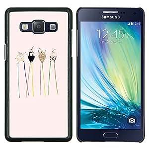 Stuss Case / Funda Carcasa protectora - Animales Dibujo lindo dulce - Samsung Galaxy A5 ( A5000 ) 2014 Version
