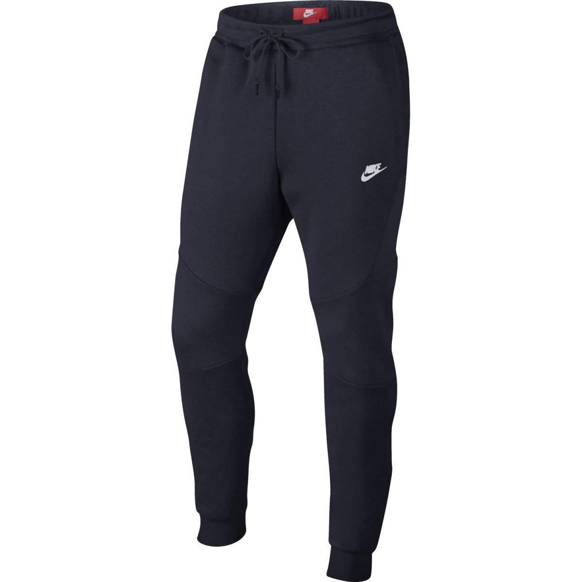 NIKE Tech Fleece Men's Sportswear Fashion Casual Joggers Blue 805162-455 (Size XS)