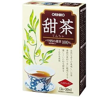 Amazon   オリヒロ 甜茶 20包   ...