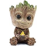 thematys® Baby Groot Maceta - Figura de acción para Plantas y bolígrafos de la película clásica - Perfecto como Regalo - Soy Groot (E (pequeño))