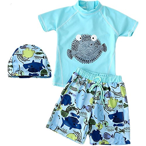 JELEUON Baby Kids Boys Two Pieces Short Sleeve