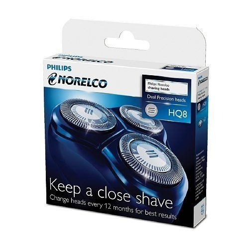 Brand New Philips Norelco Hq8 Spectra / Sensotec Razor Shaver Hq 8 Heads Good Product Fast Shipping