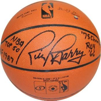 100% True Rick Barry Single Signed Baseball Auto Autograph Jsa Coa Gs Warriors Nba Hof Sports Mem, Cards & Fan Shop