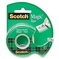 Cinta mágica Scotch 810 en dispensador, 0.50 x 450 pulgadas, transparente mate