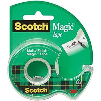 Scotch Magic Matte Finish Tape, Versatile, 1/2 x 450 Inches (104)